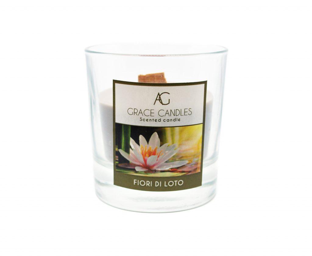 candela grace fiori di loto