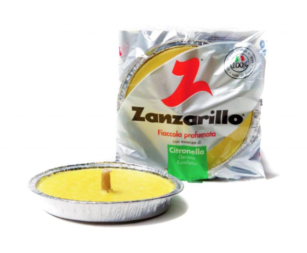 padella alluminio citronella zanzarillo - 16 cm