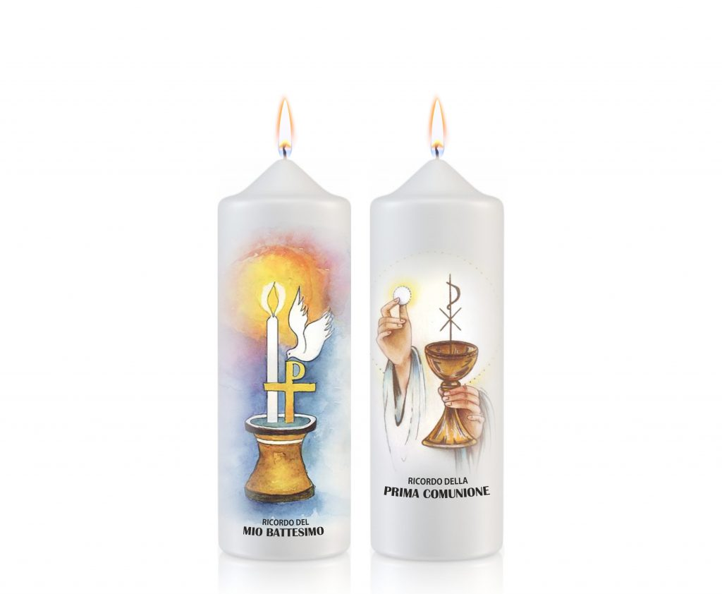 Candele santissimo sacramento - Moccoli sacramento