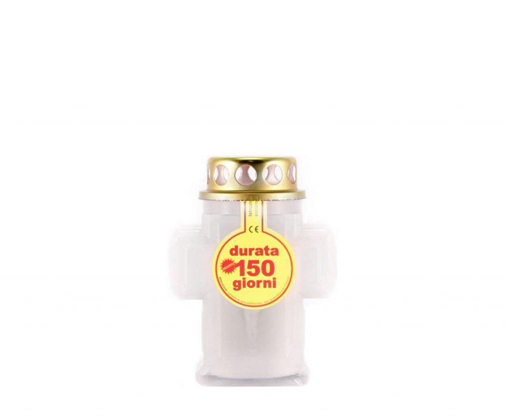 Lumin croce piccola durata 150 giorni cod Lampada croce piccola bianco