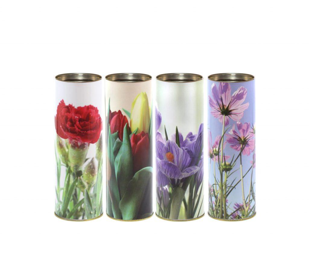 T50 ecologico fiori lumino cera lumino ecologico floreale