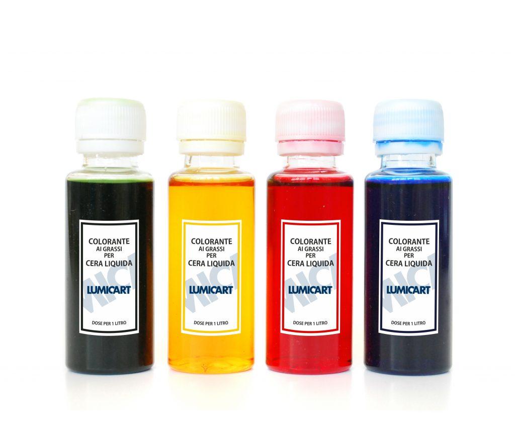 colorante cera liquida
