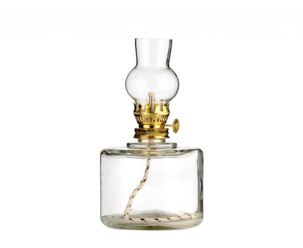 lampada vetro piccola trasparente 2 - lampada per cera liquida