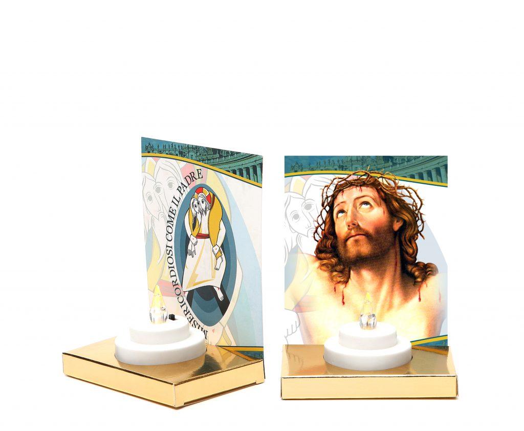 lumino elettronico durata 150 giorni + altarino - cod. altarino