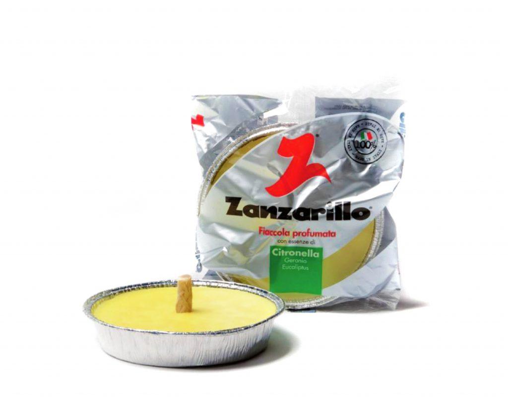 padella alluminio citronella zanzarillo - 11 cm